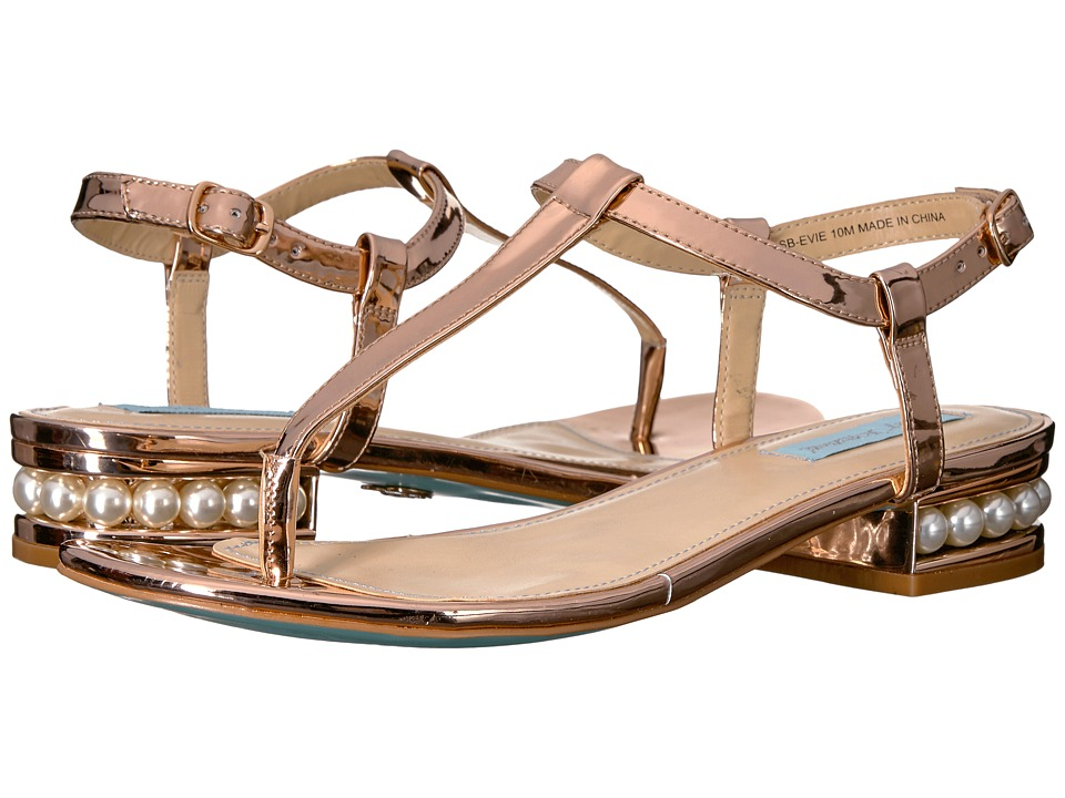 Blue by Betsey Johnson - Evie (Rose Gold) Women's Shoes