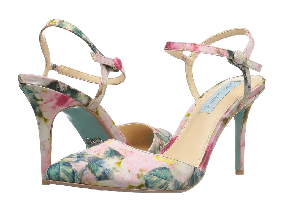 Blue by Betsey Johnson Anina (Floral) High Heels