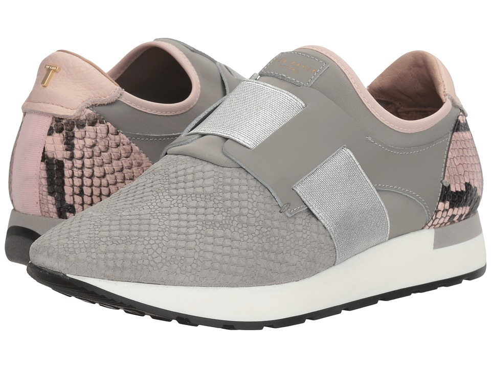 Ted Baker - Kygoa (Grey/Light Pink Leather) Women's Shoes