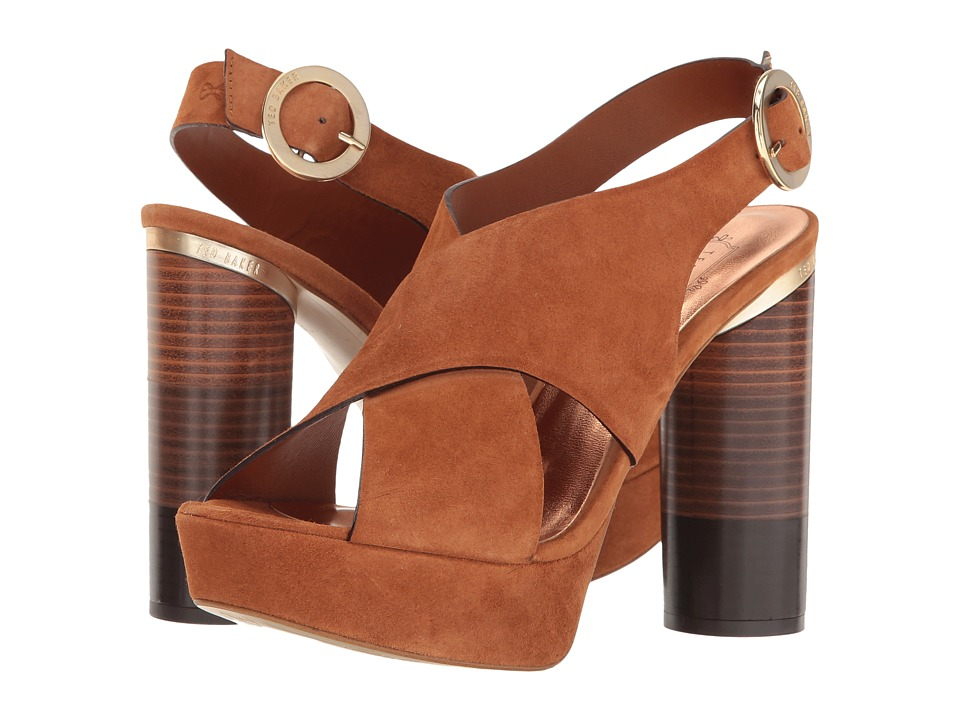 Ted Baker - Kamilla (Tan Suede) Women's Shoes