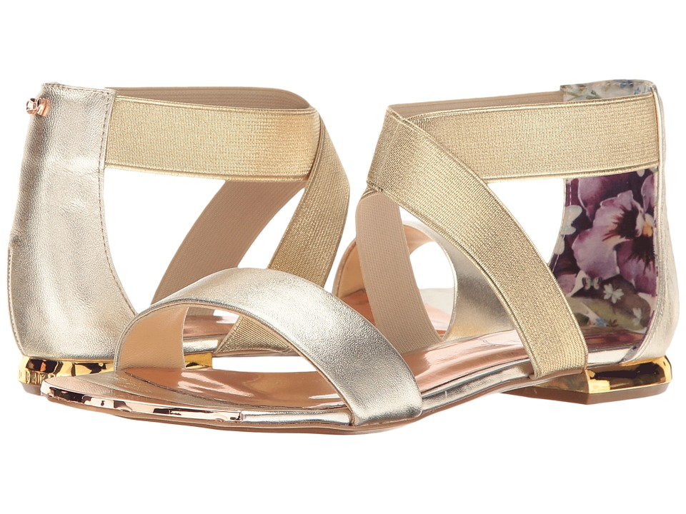 Ted Baker - Laana (Gold Leather) Women's Shoes