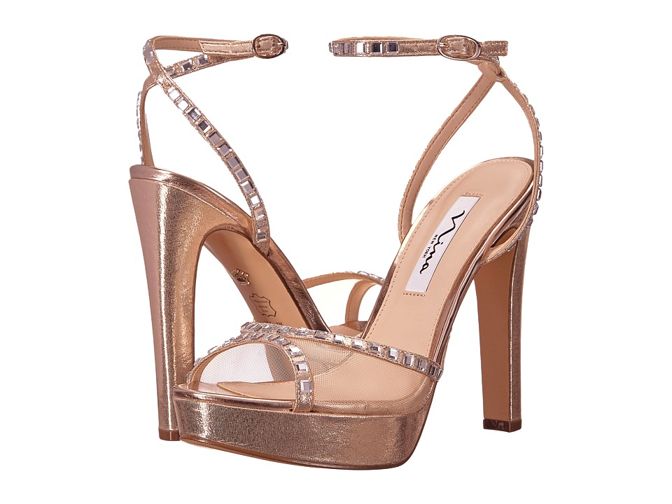 Nina Myrna (Taupe/Champagne) High Heels