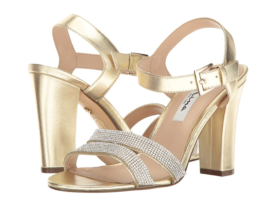 Nina - Sylvie (Soft Gold Titan) High Heels