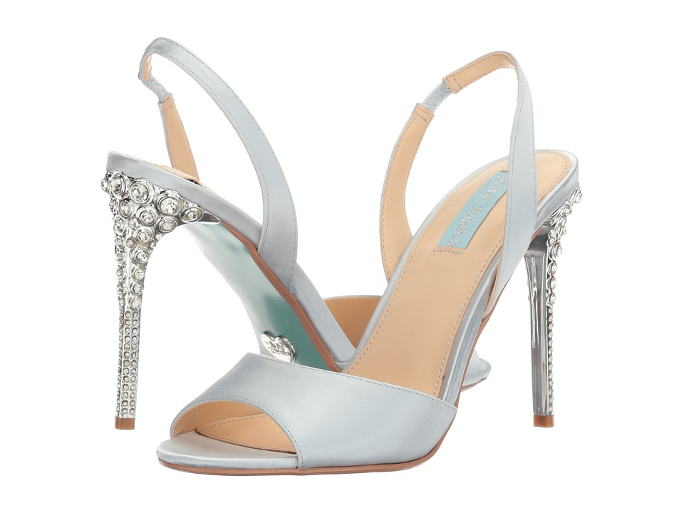 Blue by Betsey Johnson Naomi (Light Blue) High Heels