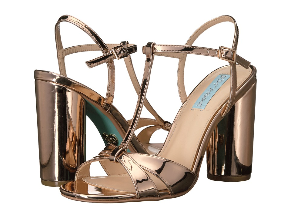 Blue by Betsey Johnson Luisa (Rose Gold) High Heels