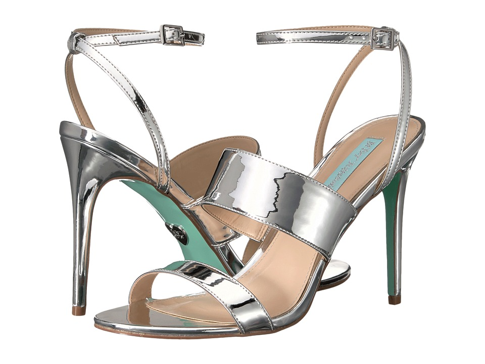 Blue by Betsey Johnson - Jenna (Silver Foil) High Heels