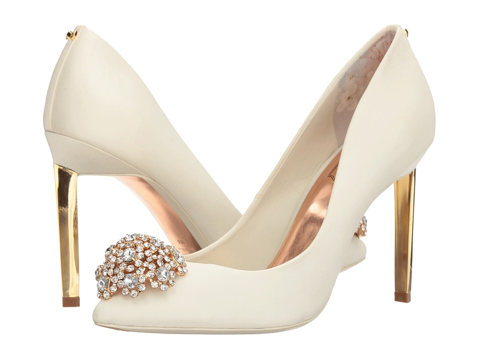 Ted Baker - Peetch (Cream Textile) High Heels