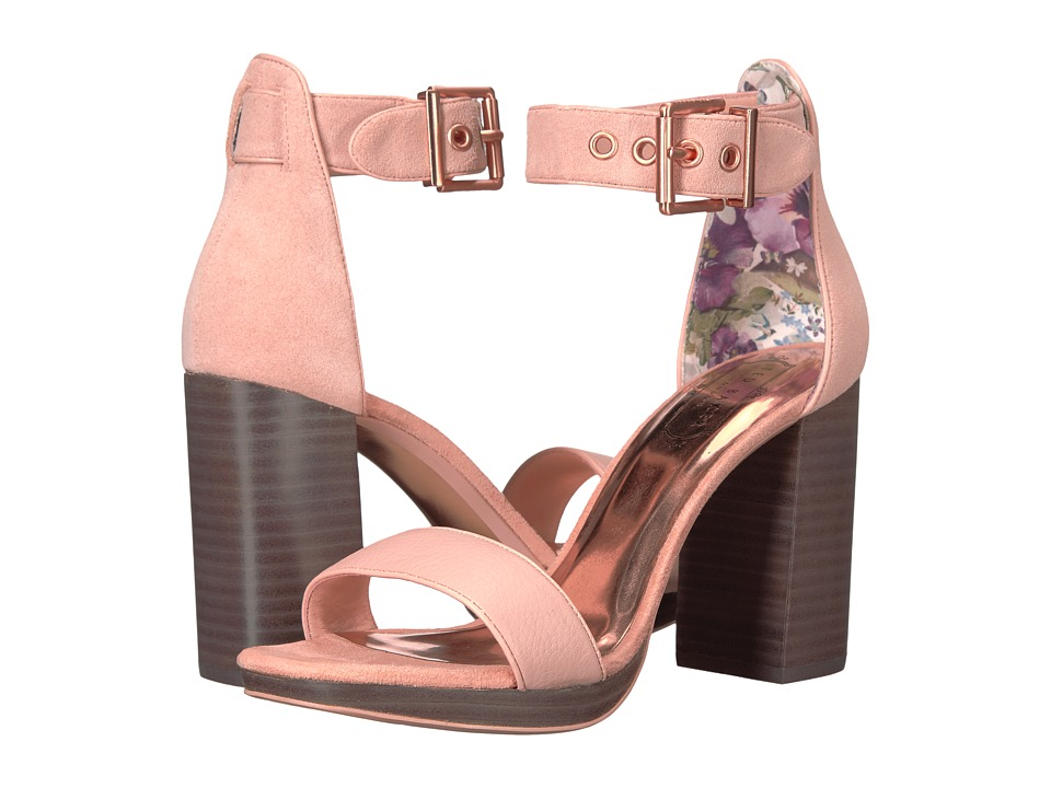 Ted Baker Lorno (Light Pink Leather) High Heels