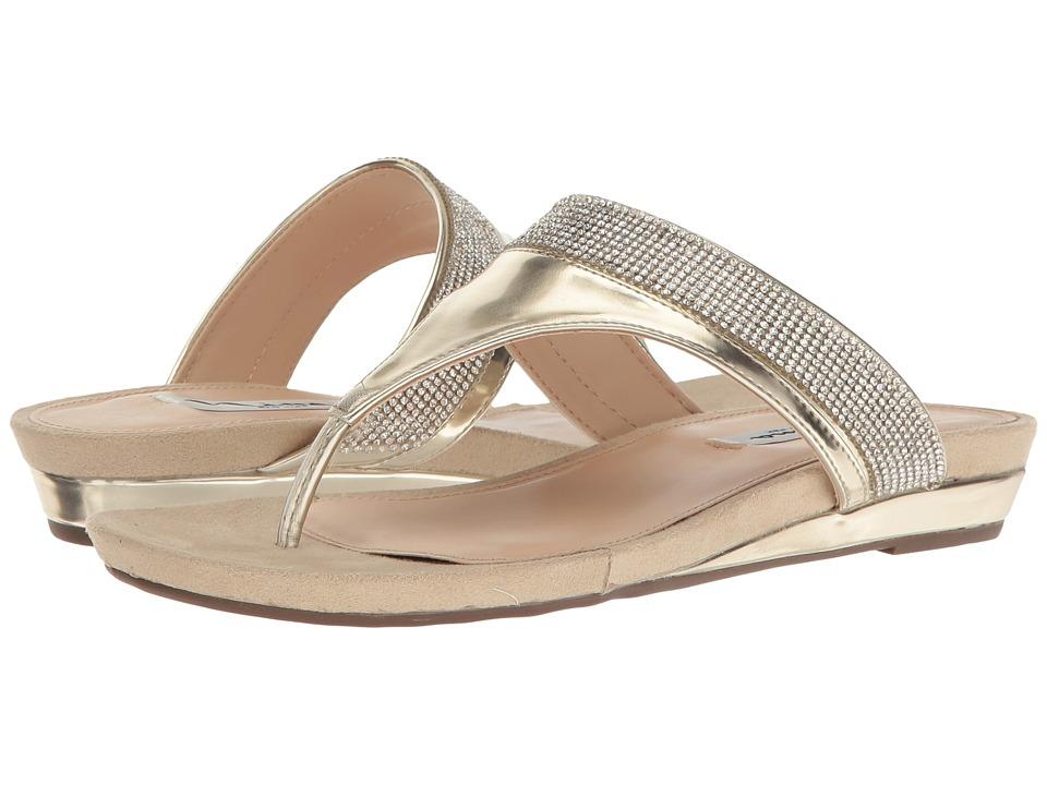 Nina - Micayla (Fools Gold Metal Foil) Women's Sandals