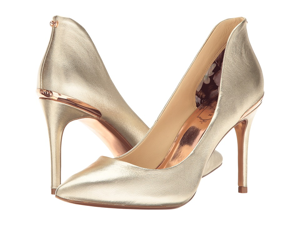 Ted Baker Saviy (Gold Leather) Women