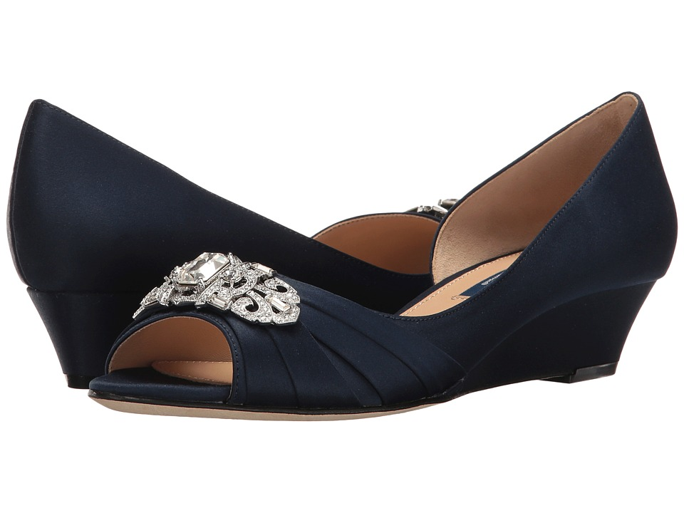 Nina Radha (New Navy Luster Satin) Women