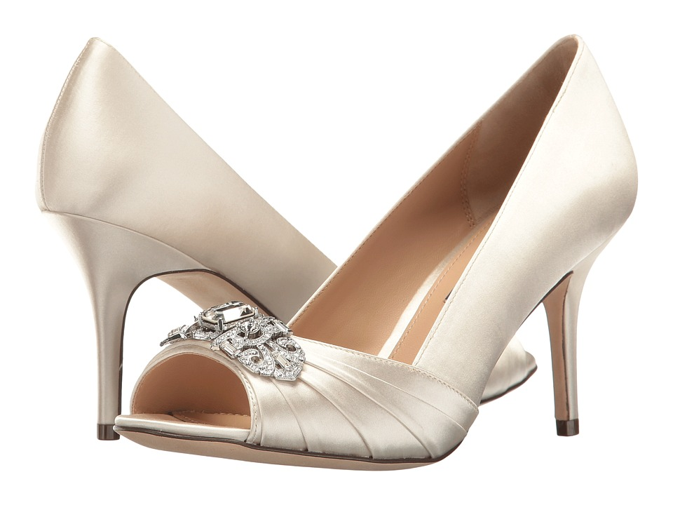 Nina - Verity (Ivory Crystal Satin) High Heels