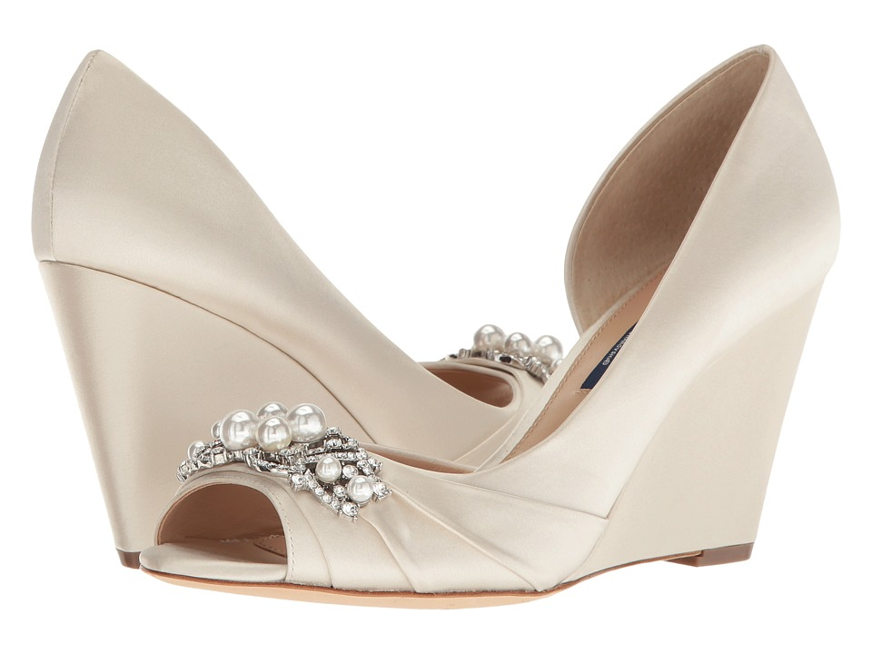 Nina Rona (Ivory Crystal Satin) Women