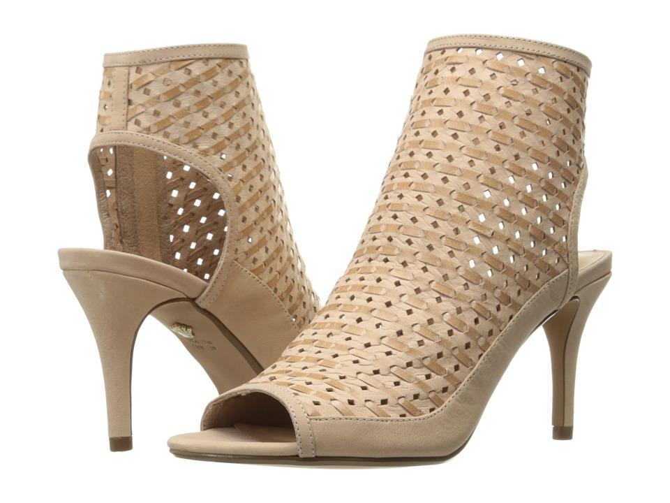 Nina - Kristene (Sand Perforated Woven Leather) High Heels