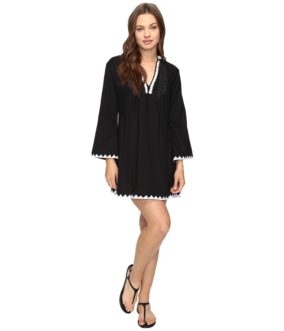 Athena Laila Tunic Cover-Up (Black) Women