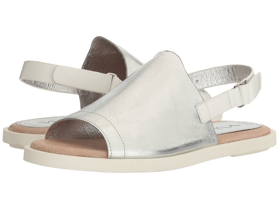 Nina - Summer (Silver Tumbled Metallic Cow) Women's Sandals