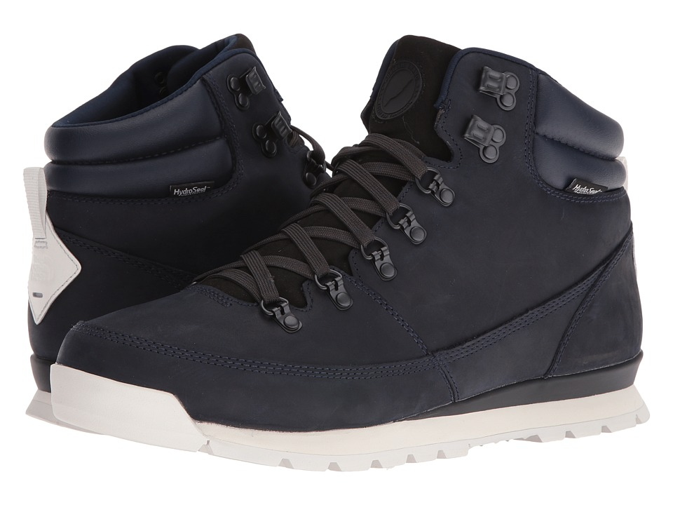 The North Face - Back-To-Berkeley Redux Leather (Midnight) Men's Hiking Boots