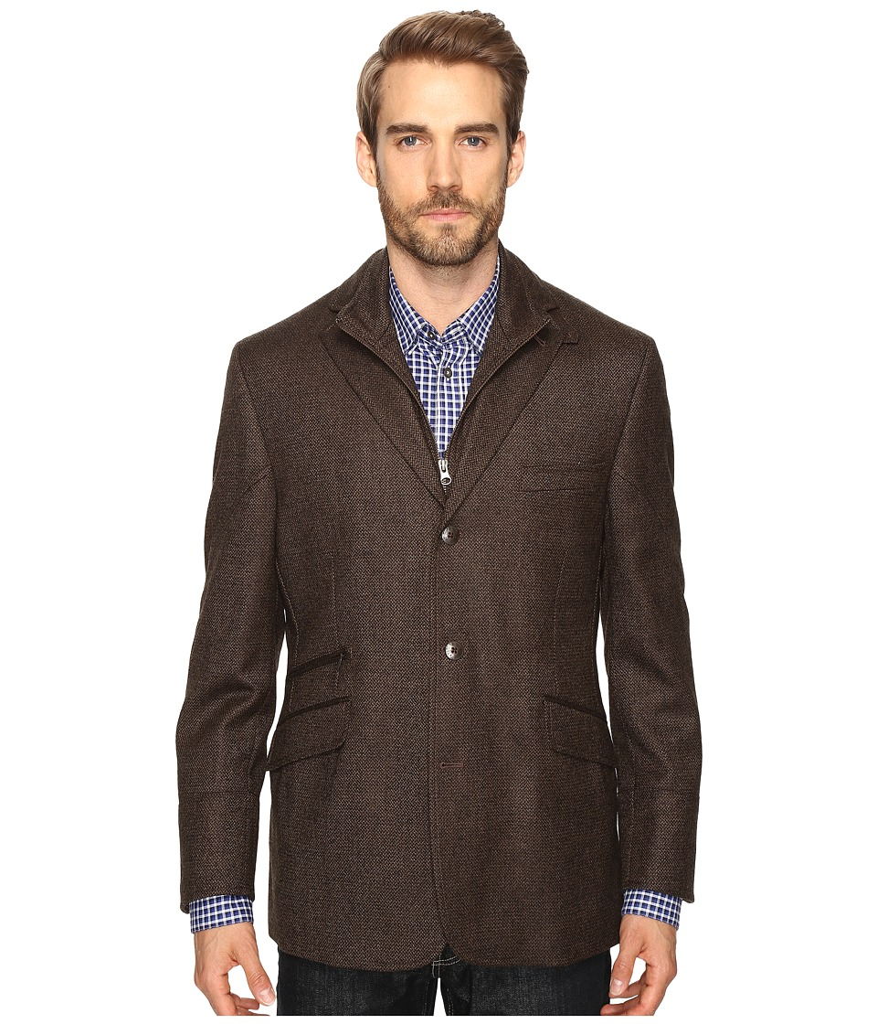 Kroon - Ritchie Hybrid Coat (Brown) Men's Coat
