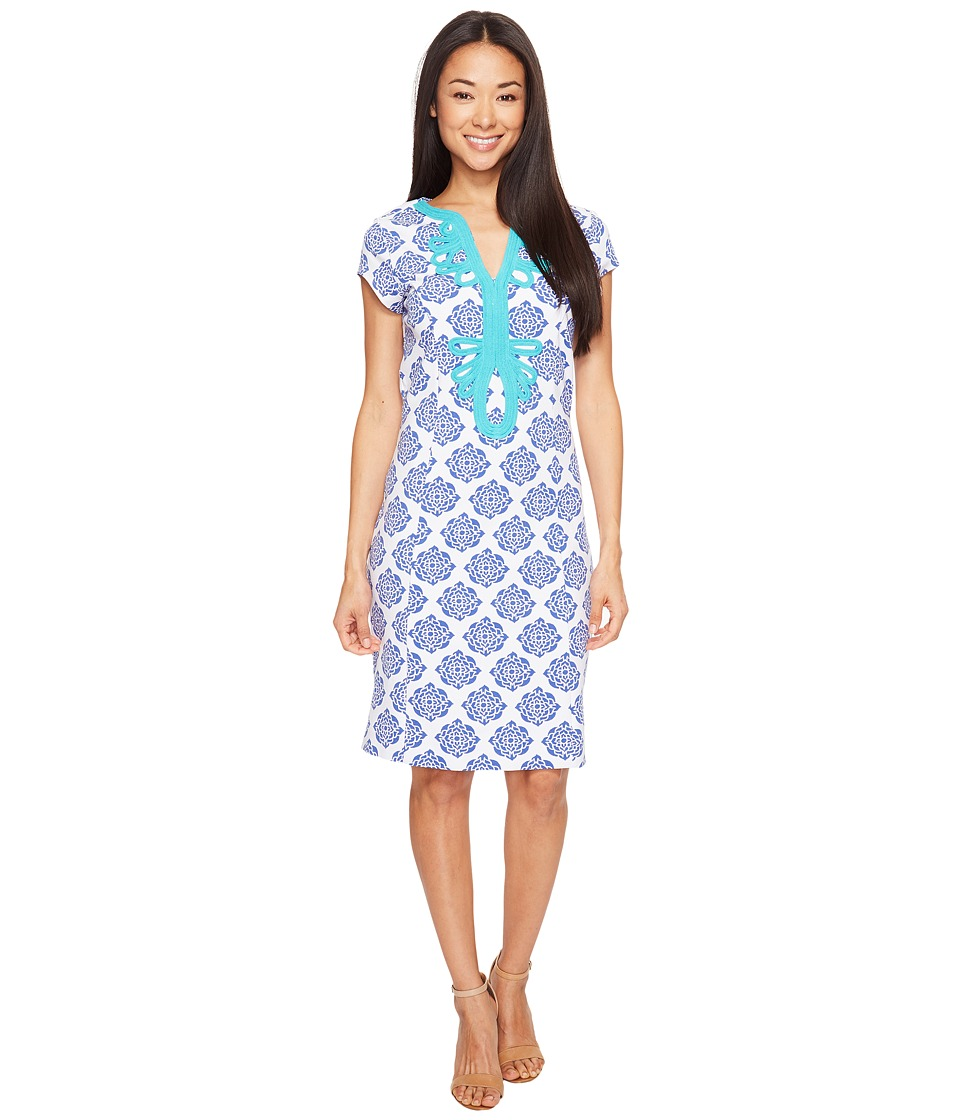 Hatley - Ponte Dress (Henna Floral) Women's Dress