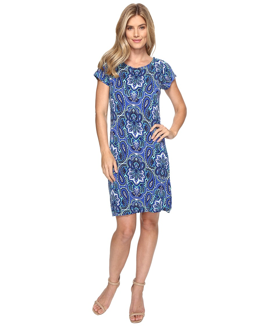 Hatley - Tee-Shirt Dress (Clearwater Paisley) Women's Dress