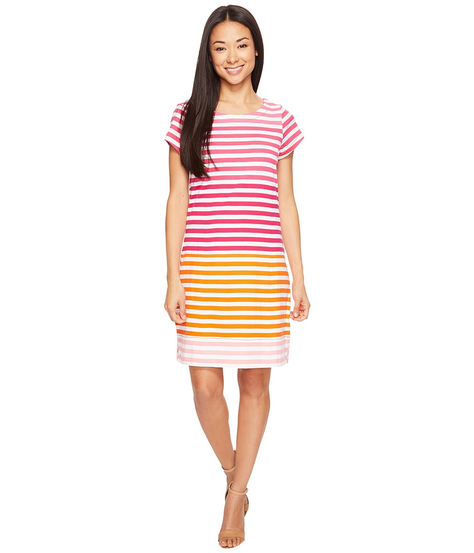 Hatley - Tee-Shirt Dress (Tropic Stripes) Women's Dress