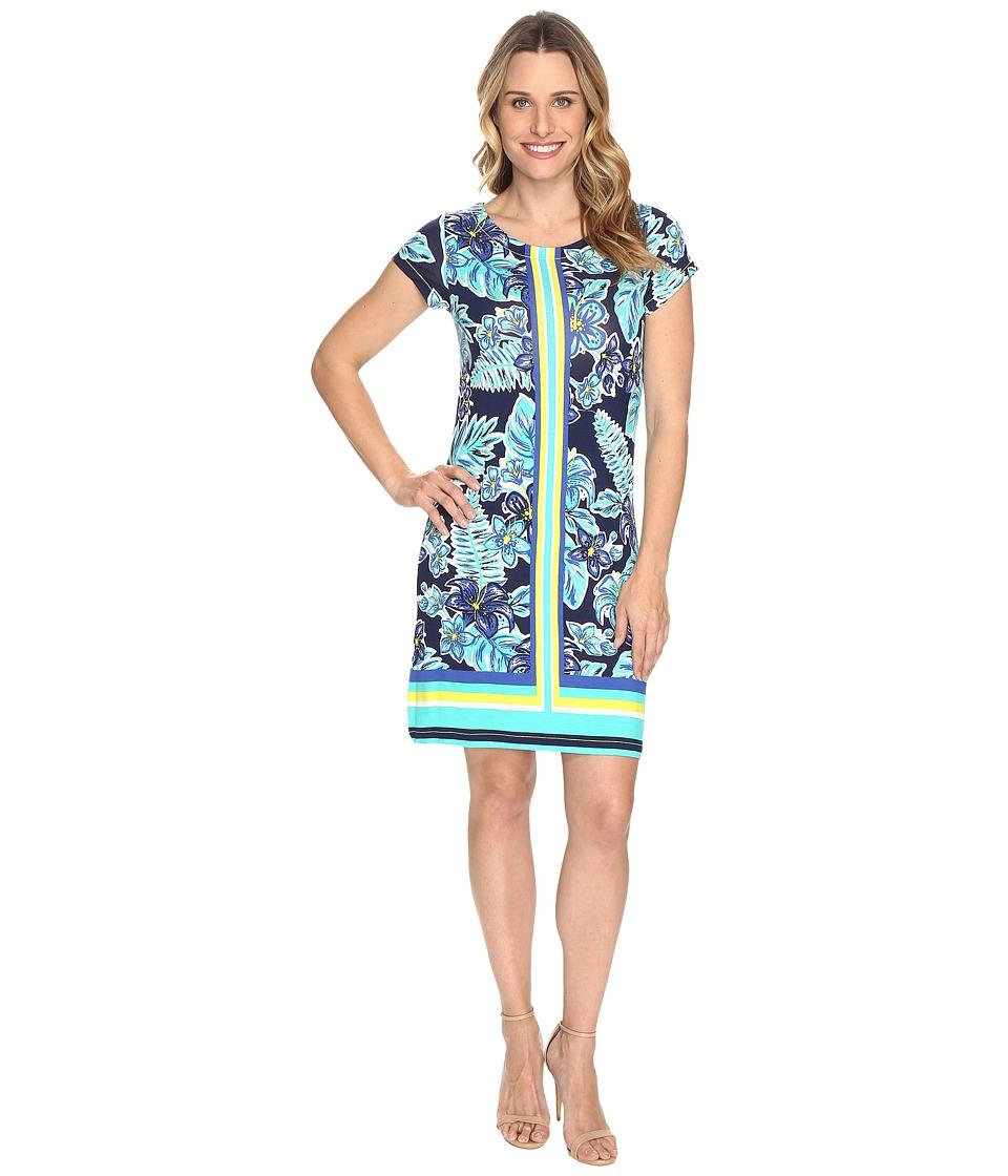Hatley - Tee-Shirt Dress (Kauai Floral Rainforest) Women's Dress