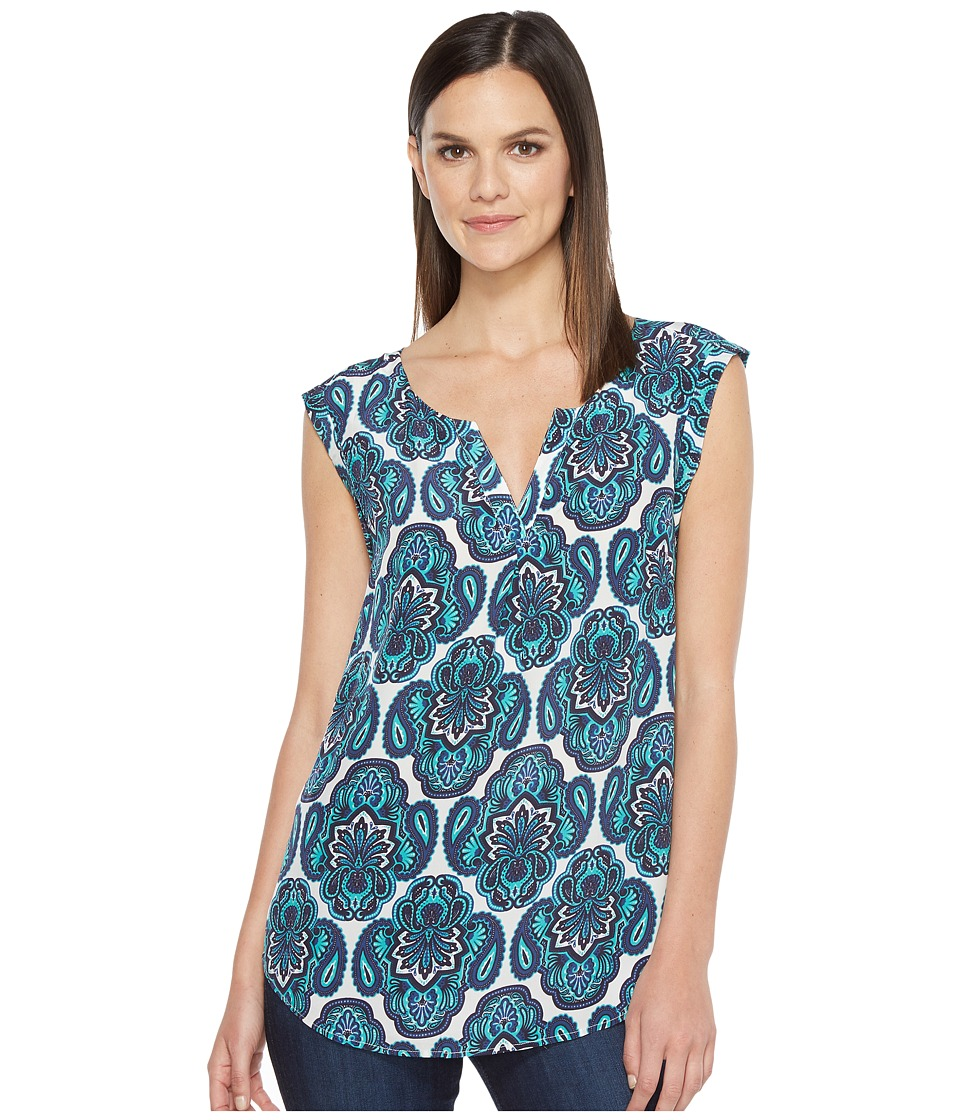 Hatley - Silk Blouse (Oranate Paisley) Women's Blouse