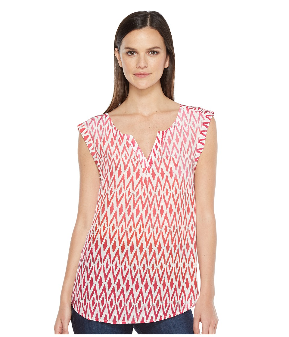Hatley - Silk Blouse (Ikat) Women's Blouse