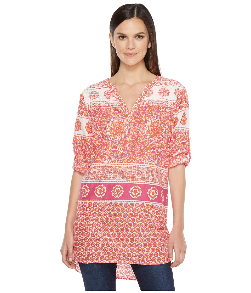 Hatley - Cotton Embroidered Tunic (Mix Matched Mandella) Women's Clothing