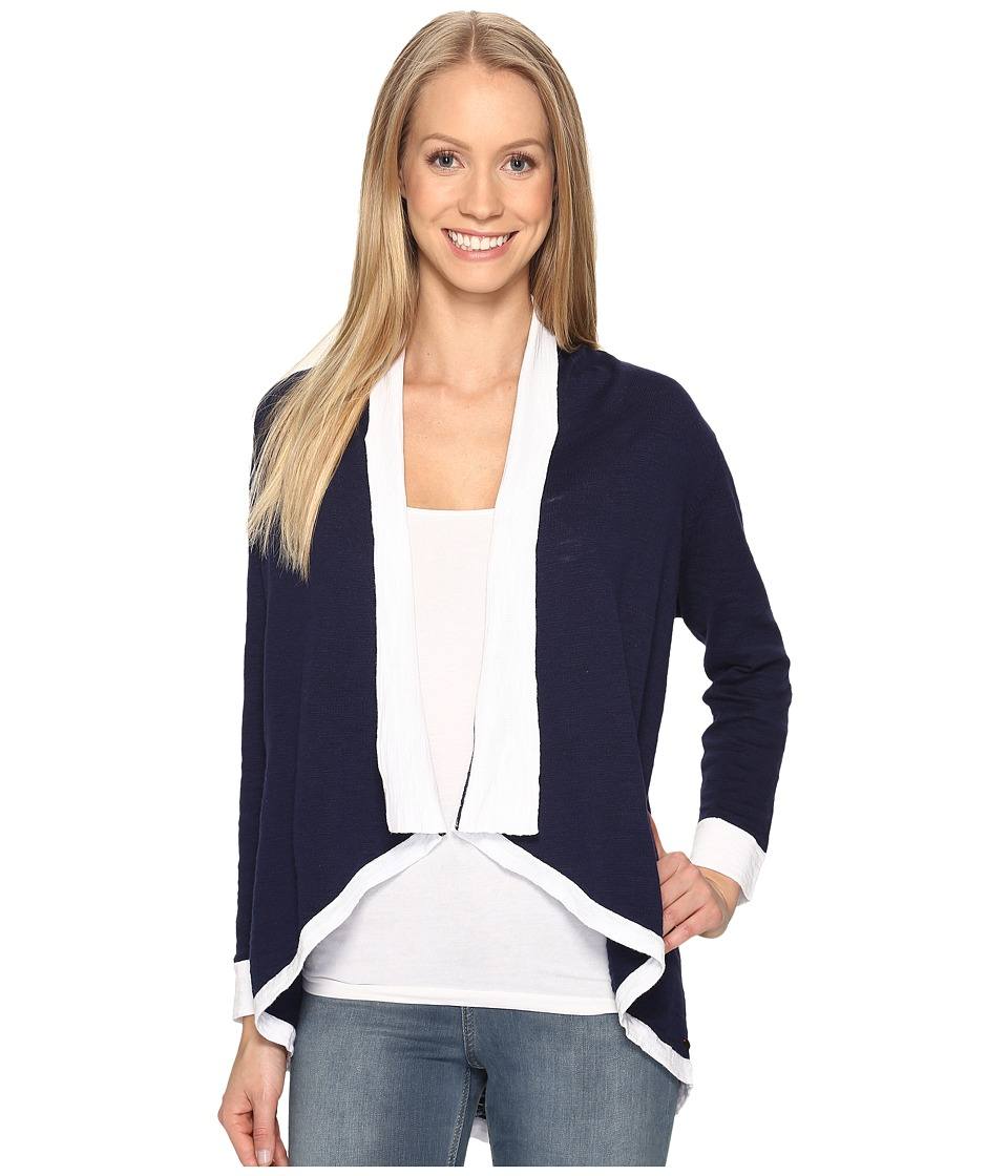 Hatley - Sweater Wrap (Navy/White) Women's Sweater