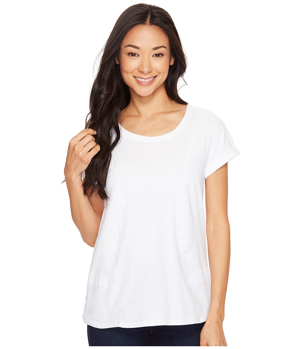 Hatley - Cotton/Linen Tee (Summer White) Women's T Shirt