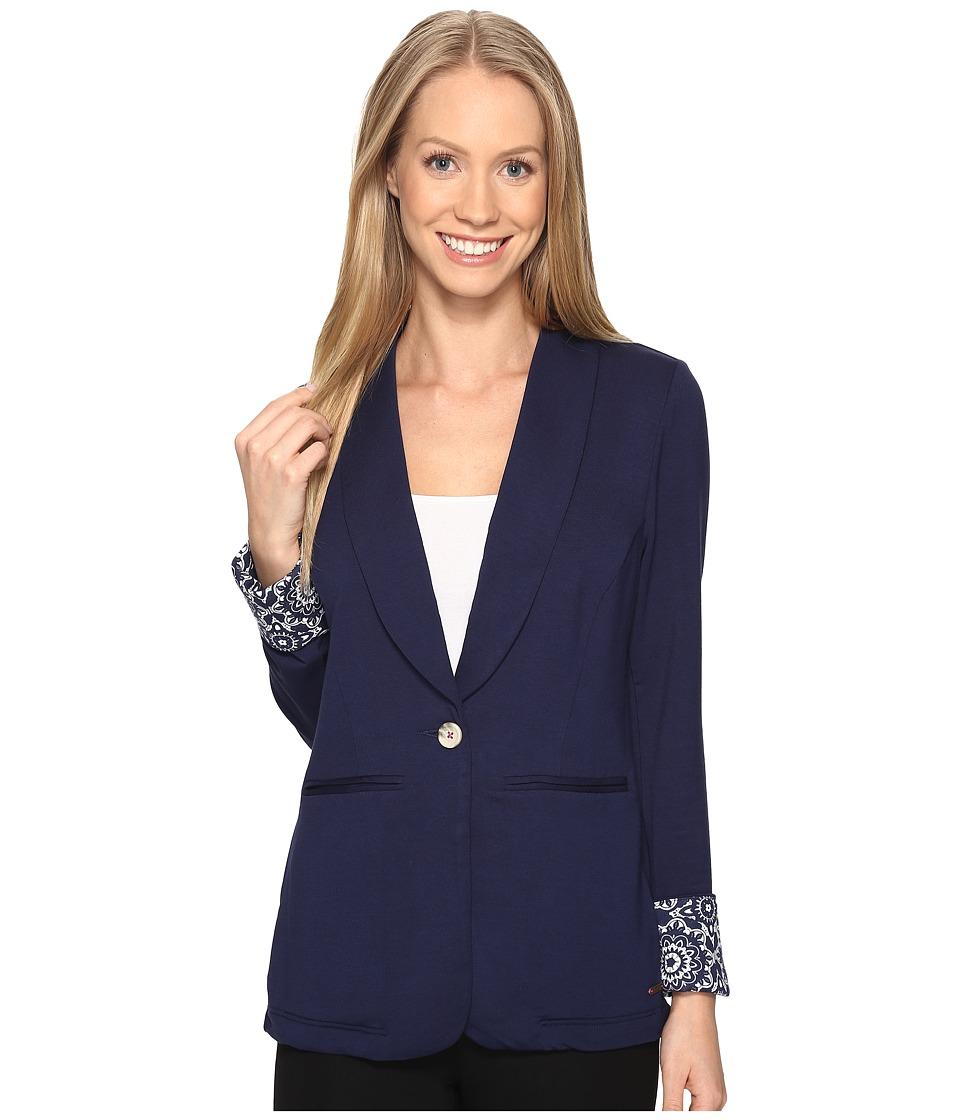 Hatley - Blazer (Navy/Mandella) Women's Jacket