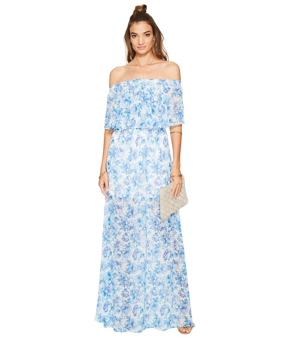 Show Me Your Mumu - Hacienda Maxi Dress (Mama Blues) Women's Dress