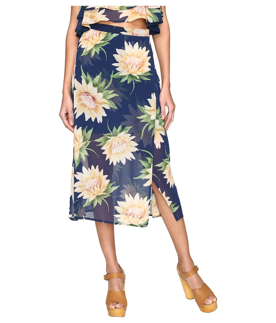 Show Me Your Mumu - Flirt Skirt (Sunflower Dreams) Women's Skirt