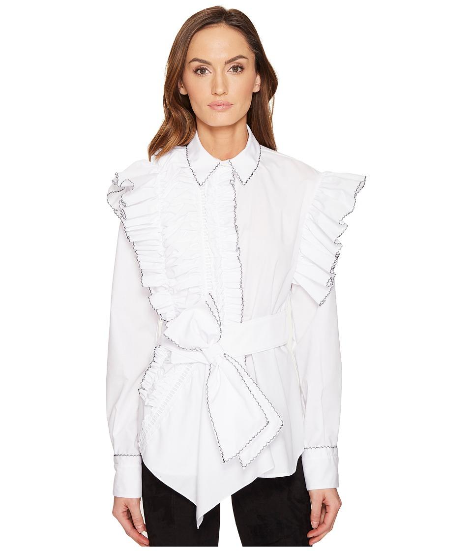 Preen by Thornton Bregazzi - Morgana Shirt (White) Women's Clothing