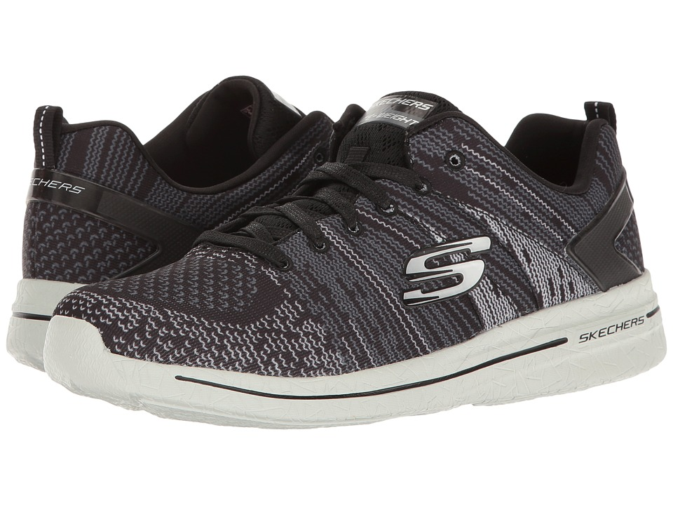 SKECHERS - Burst 2.0 (Black/Gray) Women's Shoes