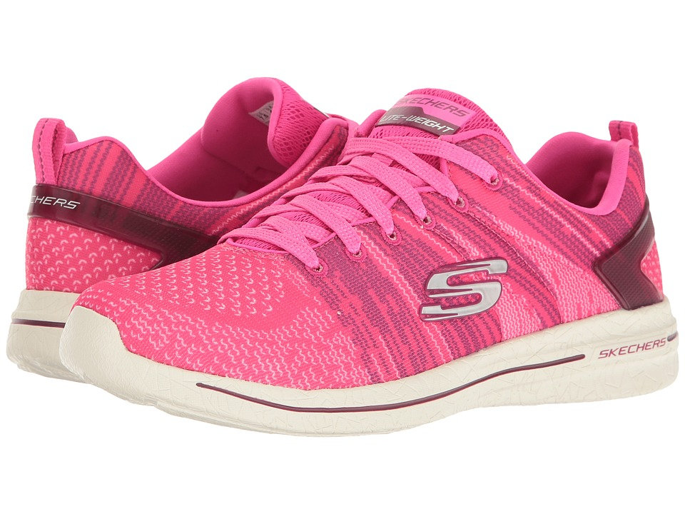 SKECHERS - Burst 2.0 (Hot Pink) Women's Shoes