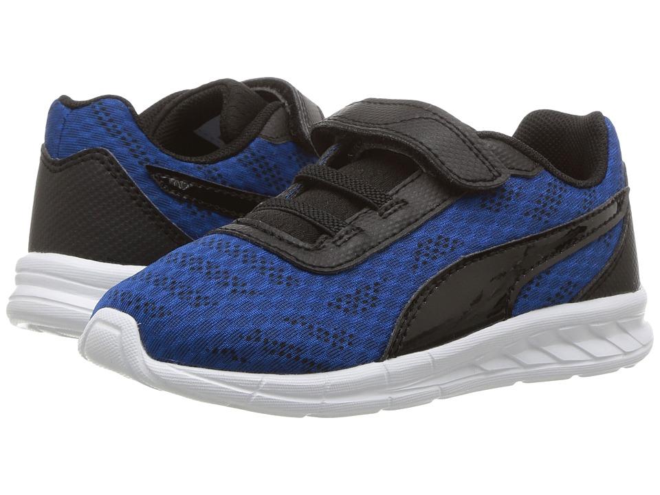 Puma Kids - Meteor V (Toddler) (True Blue/Puma Black) Boy's Shoes