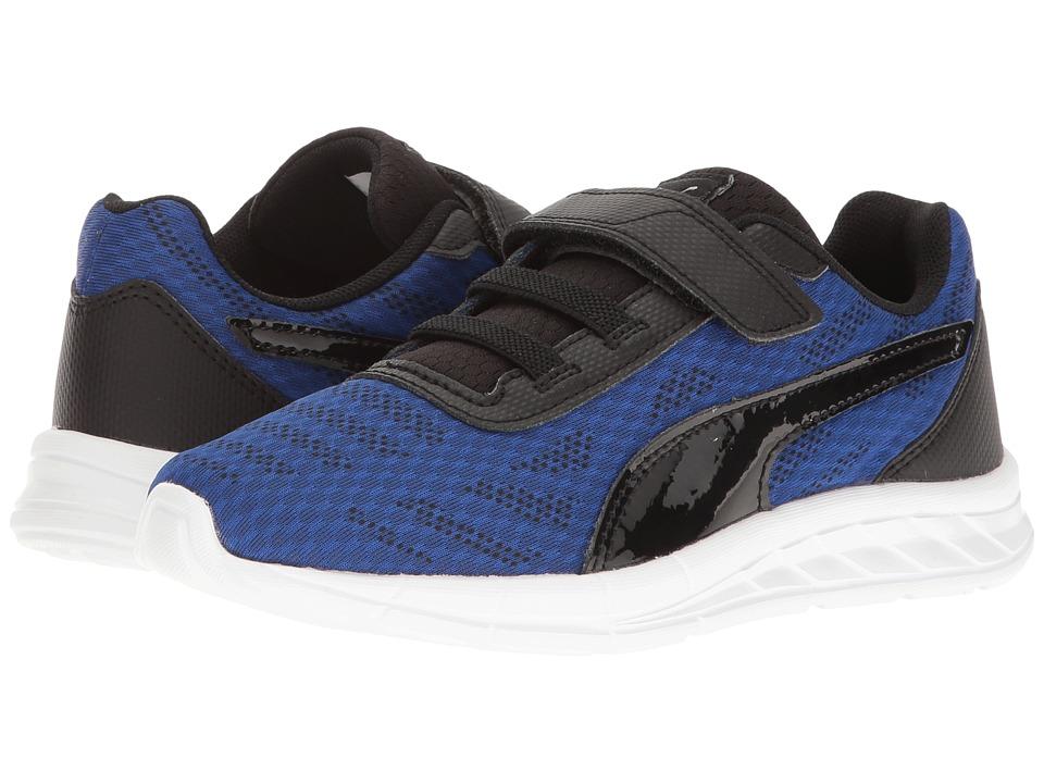 Puma Kids - Meteor V (Little Kid/Big Kid) (True Blue/Puma Black) Boy's Shoes