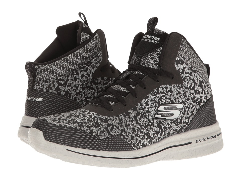 SKECHERS - Burst 2.0 - Fashion Forward (Black/Silver) Women's Shoes
