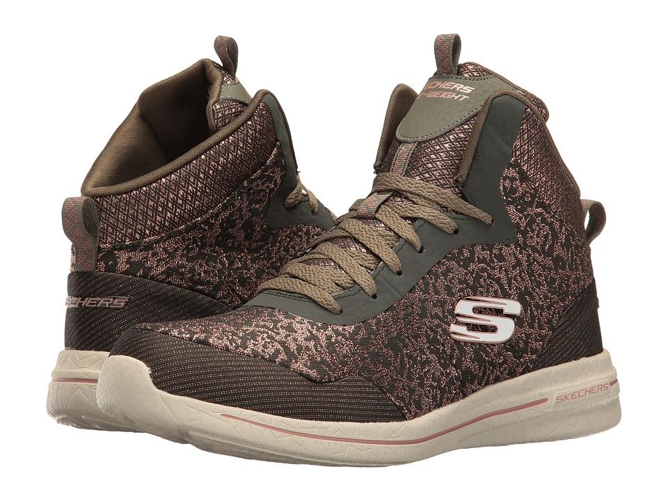 SKECHERS - Burst 2.0 - Fashion Forward (Olive/Pink) Women's Shoes