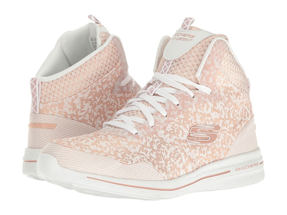 SKECHERS - Burst 2.0 - Fashion Forward (White/Pink) Women's Shoes