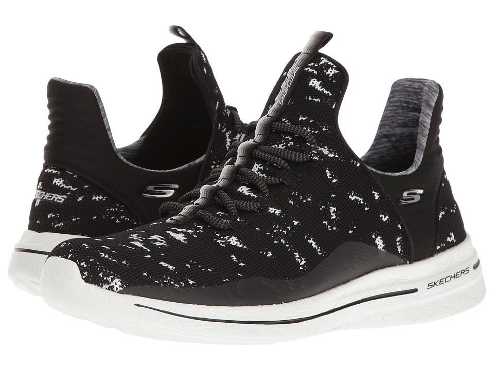 SKECHERS - Burst Walk - New Avenues (Black/White) Women's Shoes