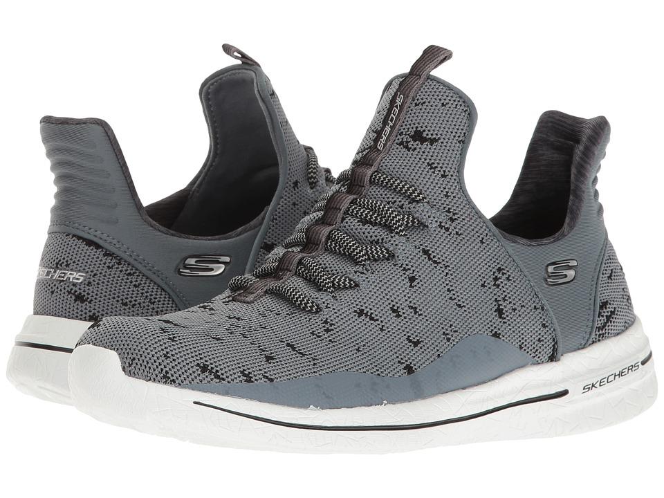 SKECHERS - Burst Walk - New Avenues (Gray/Black) Women's Shoes