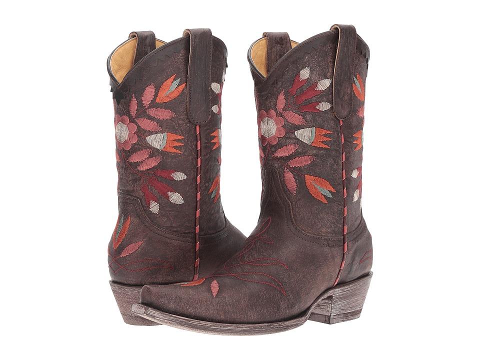 Old Gringo Amitola (Chocolate) Cowboy Boots