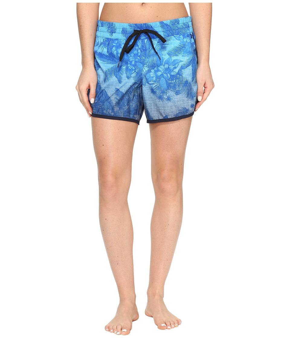 Hurley - Supersuede Colin 5 Boardshorts (Blue Moon) Women's Swimwear