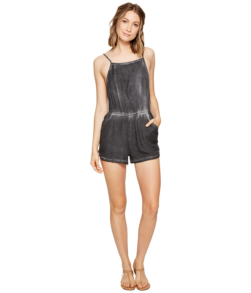 RVCA - Chaser Backless Jumper (Black) Women's Jumpsuit & Rompers One Piece