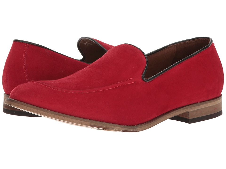 Bacco Bucci Matta (Red) Men's Slip-on Dress Shoes