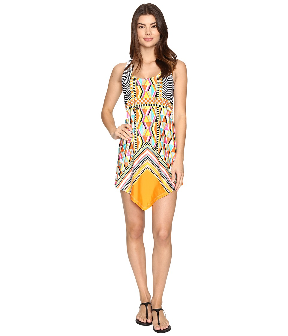 Trina Turk - Brasilia Dress Cover-Up (Multi) Women's Swimwear