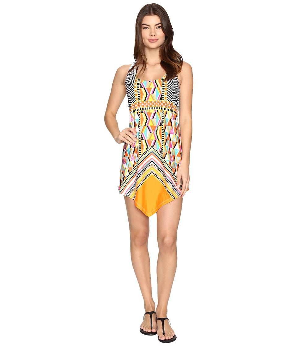 Trina Turk - Brasilia Dress Cover-Up (Multi) Women's Swimwear
